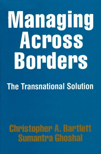 Image OfManaging Across Borders: The Transnational Solution