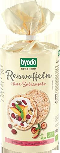 Byodo Bio Reiswaffeln ohne Salzzusatz (2 x 100 gr)