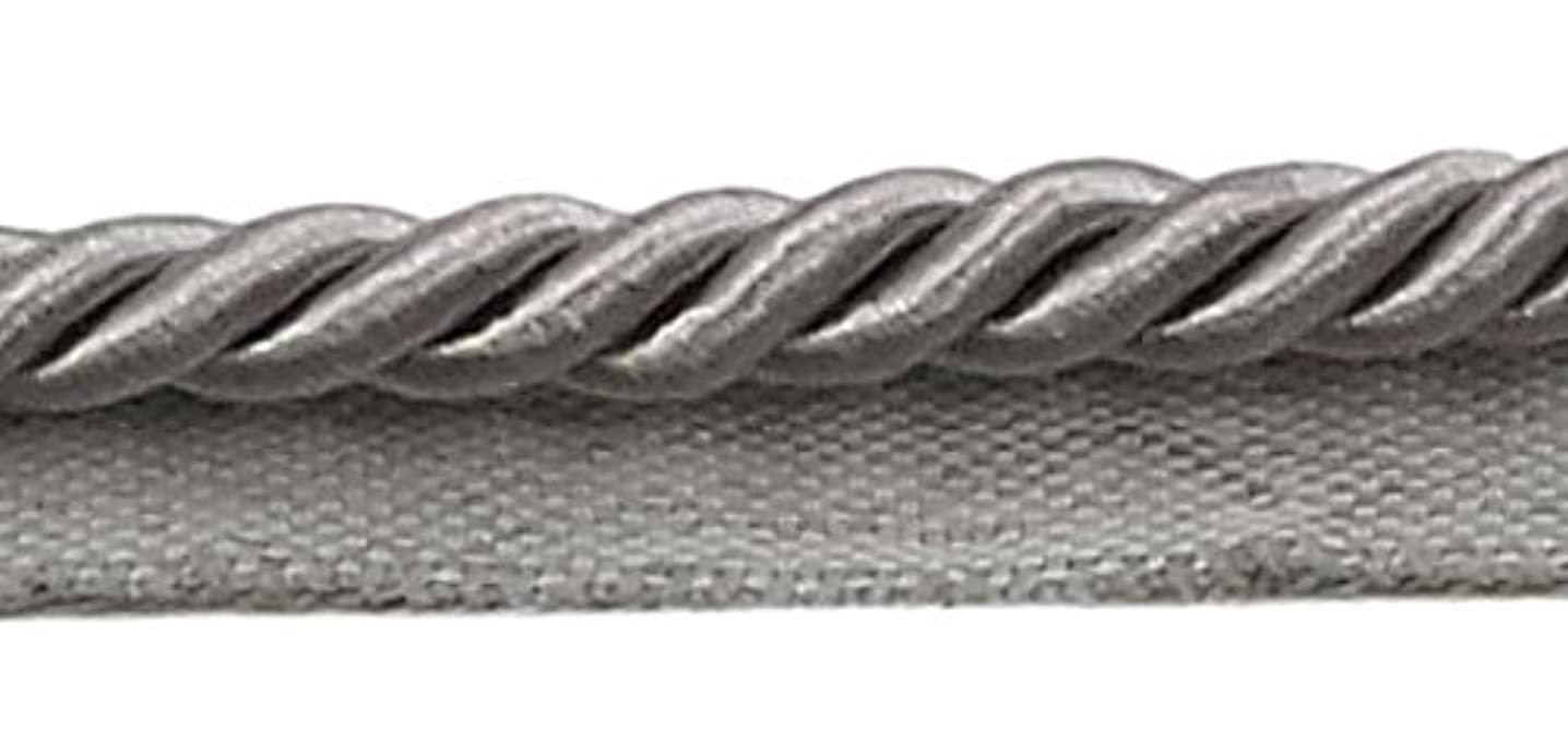 DecoPro 10 Yard Pack of Silver Grey, Large 3/8