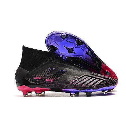 Botas De Futbol Botas De FúTbol Impermeables Tejido De Punto Galvanizado Botas De FúTbol Zapatos De Entrenamiento Pastos Naturales Hombres