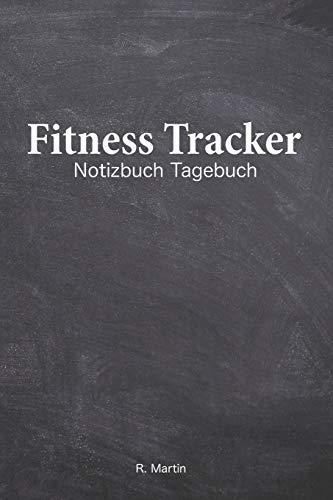 """Fitness Tracker: Dein Gym Tagebuch im praktischen 6\""""x9\"""" bzw. 15cm x 23cm Format (Din A5). Trainingseinheiten, Trainingsfortschritte und Ernährungsplanung. Alles in diesem Tagebuch"""