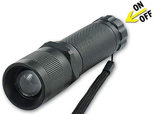 LED-Taschenlampe, TL 380 MASTER HPL, 1 CREE-LED, MELLERT