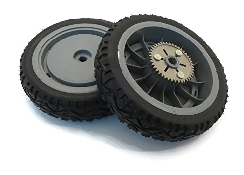 (2) Genuine OEM Toro Drive Wheels Gears for Super Recycler Push Lawn Mower