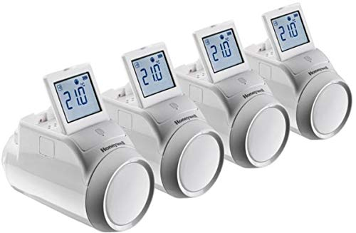 Honeywell evohome connected - Kit zonificador con 4 termostatos radiador