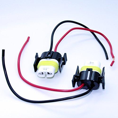2 x Lampes Version – H8/H11 Socle – Lampe Ampoule Fiche culot 12 V