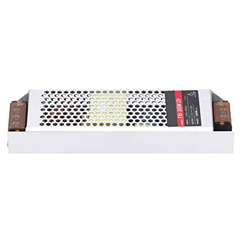 Fuente de alimentación conmutada Transformador de controlador de fuente de alimentación LED que incluye tiras de luces LED Suministros industriales 300W AC190‑240V(DC12V, pink)