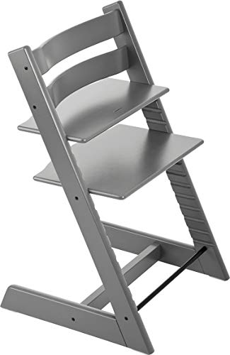 Stokke 100111 - Kinderstuhl / Hochstuhl Tripp Trapp, grau