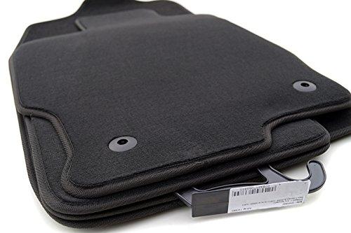 kh Teile 4336 Fußmatten GH (Velour) Auto Matten 4-teilig schwarz