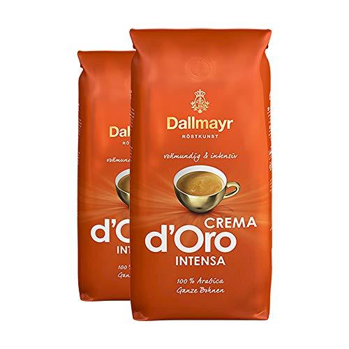 Dallmayr Crema d'Oro Intensa, Ganze Bohne - 1kg - 2x