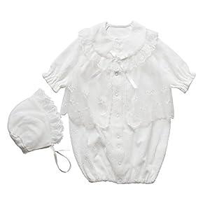 冬物厚手 ベロア素材 お帽子2点セット 日本製 新生児 赤ちゃん お宮参り 退院時用 セレモニーベビードレス