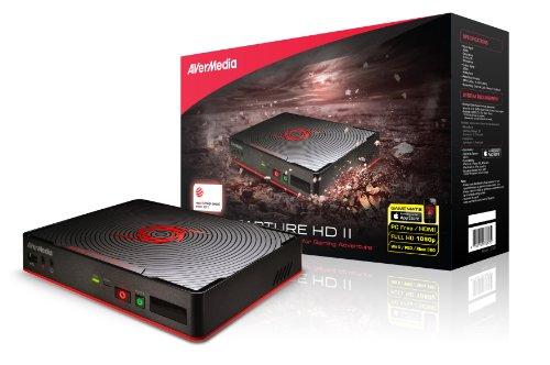 AVerMedia Game Capture II (C285) - Registra, commenta, modifica e condividi la console di gioco senza un PC HD 1080p - Compatibile con XBOX ONE & PS4