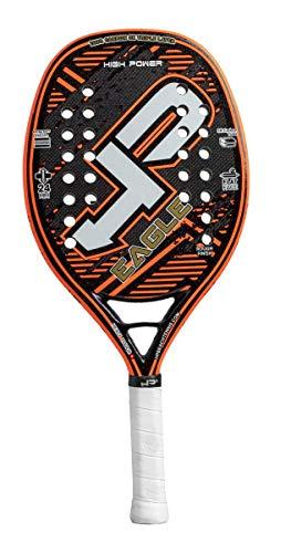 HIGH POWER BEACH TENNIS HP Eagle 2019, Racchetta da Beach Tennis Unisex Adulto, Orange/Nero, UNICA