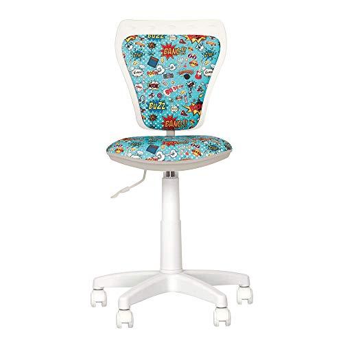 Silla escritorio infantil Chaise-Expert Ministyle con estampados coloridos