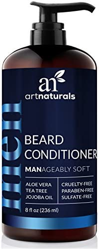 ArtNaturals Natural Beard Deep Conditioner 8 Fl Oz 236ml Infused with Aloe Vera Tea Tree and product image