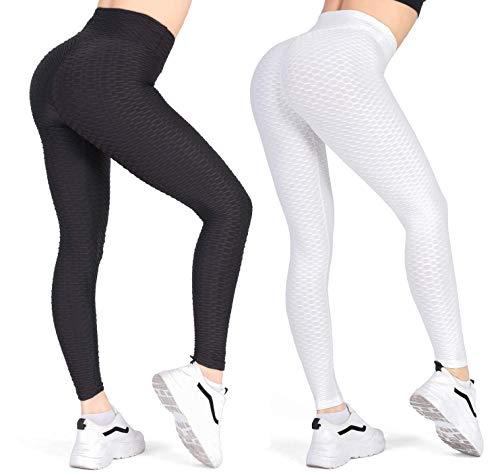 Women's High Waist Yoga Pants - Tummy...