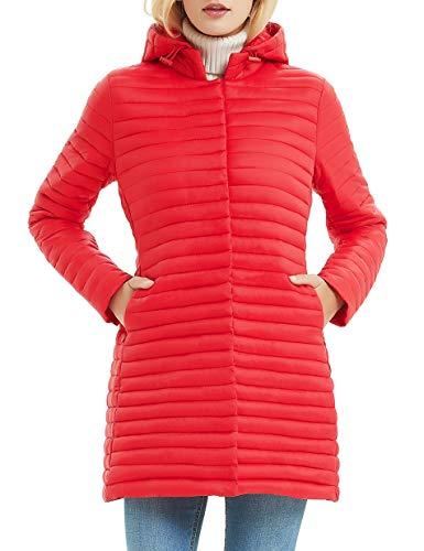 Manteau d'hiver rouge