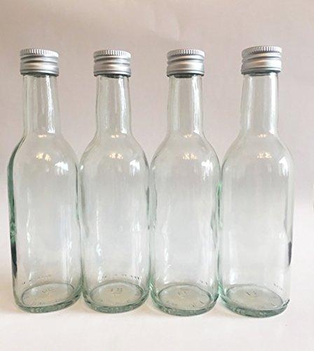 15 leere Glasflaschen Bordeaux 250 ml