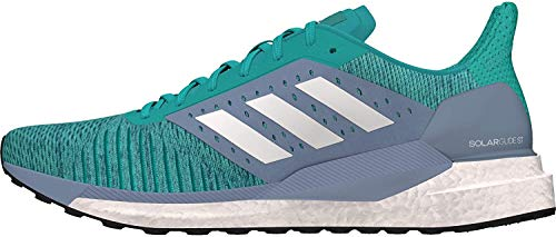 Adidas Solar Glide ST W, Zapatillas de Trail Running Mujer, Multicolor (Agalre/Ftwbla/Grinat 000), 44 EU