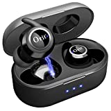 Wireless Bluetooth Earbuds 5.0, in-Ear Noise Reduction Headphones with Strong...