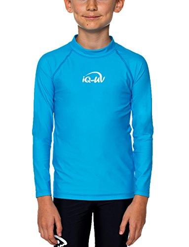 iQ-UV 300 Kinder, Langarm, Uv-Schutz T-Shirt, Türkis (Hawaii), 116/122