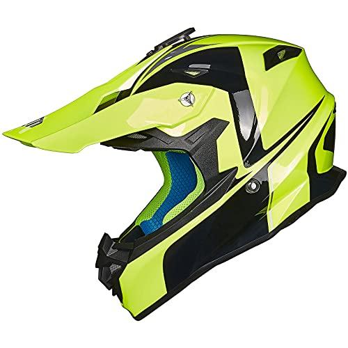 ILM Adult Motocross Dirt Bike Helmet with Super...