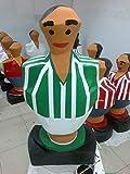 Escultura Real Betis Balompié. mas de un metro de altura muñeco futbolin gigante