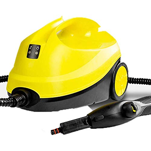 SHENAISHIREN Limpiador de Vapor Potente Limpiador de trapeador de Vapor a presión, Vaporizador de Piso Multiusos con 12 Accesorios para Pisos, Ventanas y alfombras, 2000 W, 2000 ml