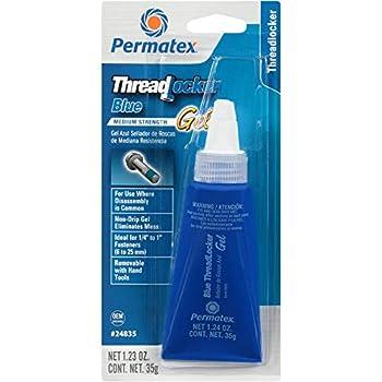 Permatex 24240 Medium Strength Gel Threadlocker Blue 36 ml