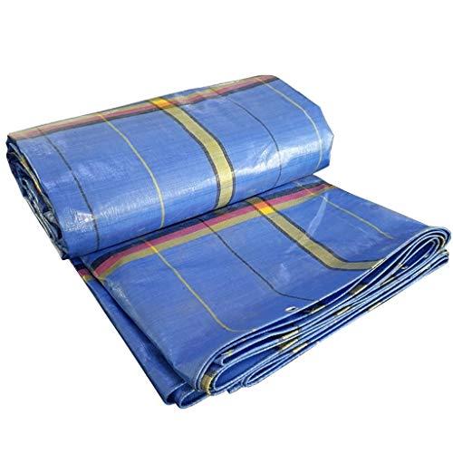 Tela de lona gruesa fácil para parasol impermeable, impermeable, protector solar, para coche, toldo portátil (tamaño: 2 x 2 m)