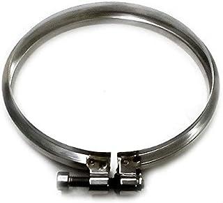 Abrazadera de combustión de bloqueo DN tubo de acero inoxidable 080 316 INOX