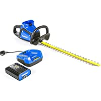 Kobalt 40-Volt Max 24-in Dual Cordless Electric Hedge Trimmer (1-Battery Included)