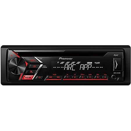 Pioneer Deh 1900ubg Einstiegs Cd Tuner Mit Usb Und Front Aux In Schwarz Auto