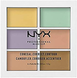 NYX PROFESSIONAL MAKEUP Color Correcting Palette, 0. 05 Ounce