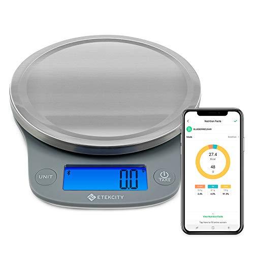 Etekcity Nutrition Smart Food Kitchen Scale,...