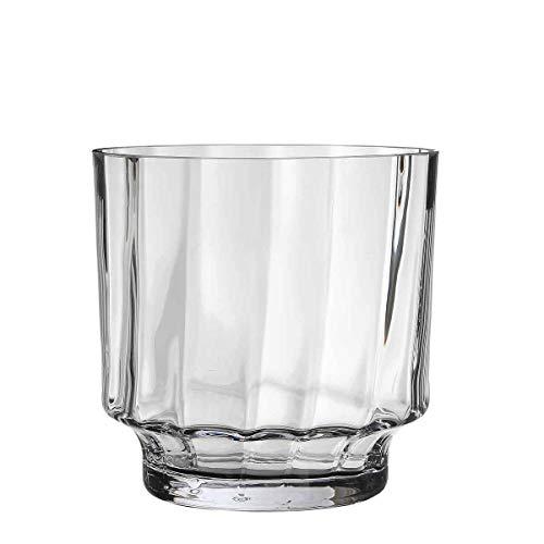 Casa Vivante Vaas Rosa glas - 25 x Ø 25 cm