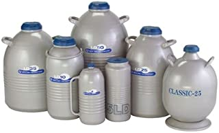 Worthington 50LDB Liquid Nitrogen Storage Dewar, 50 L, 122 Day Static Hold time