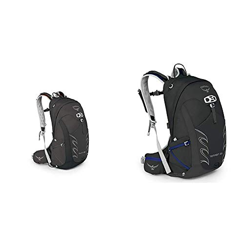 Osprey Talon 22 Men's Hiking Pack - Black (M/L) & Tempest 20 Women's Hiking Pack - Black (WS/WM)
