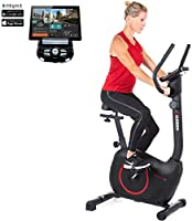 HAMMER Heimtrainer Cardio T3, geringer Einstiegs-Widerstand, besonders leises Fitnessfahrrad, Comfort-Sattel, geeignet...