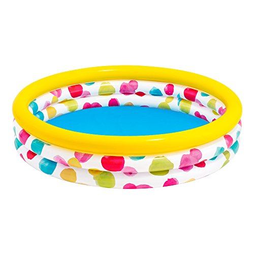 Intex 58449NP - Piscina hinchable Cool Dots 168 x 38 cm, 581 litros