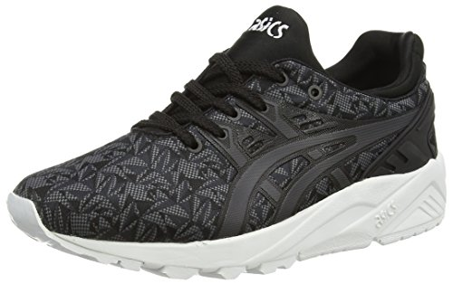 ASICS Unisex-Erwachsene Gel-Kayano Trainer Evo Sneakers, Schwarz (Black/Dark Grey 9016), 44 EU