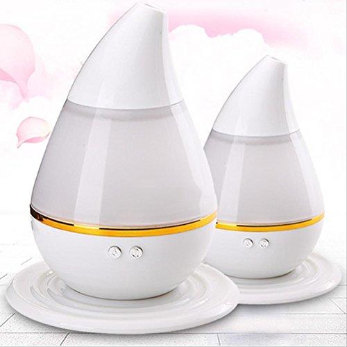 VORCOOL Diffuseur 7 couleurs LED ultrasonique aromatique humidificateur purificateur Mist Maker Air aromathérapie huile essentielle diffuseur d'huiles essentielles