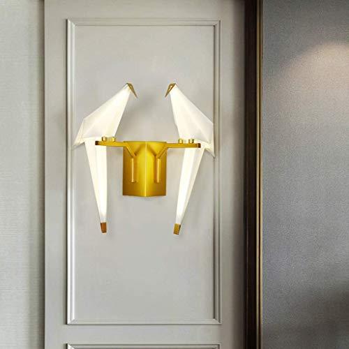 Wandlantaarn wandlamp kristal spiegel wandverlichting creatieve wandverlichting creatieve wandverlichting vloerlamp post-modern bedlampje minimalistische luxe verlichting decoratieve verlichting 37x34cm