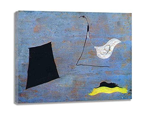 CuadrosDecoracionSalonDecoracion Composición Joan Miró FotoMuralParedLienzosDecorativosCuadrosDecoracionDormitoriosMuralesParedParaDormitorios 30x39cm 12