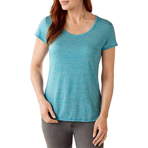 Smartwool Solid Scoop T-Shirt pour Femme, Femme, Capri, XL
