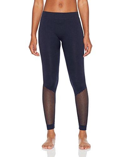 Skiny Damen SK8Y6 Laufhose lang Sport Leggings, Blau (Dark Saphire 7390), 36