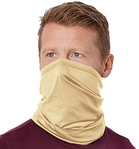 Cooling Neck Gaiter Face Mask - 12-in-1 Bandana, Cover & Scarf for Hot Summer Weather - UV Protection for Fishing, Hiking & Running - UPF 50 Wrap for Men & Women - Skin Cancer Foundation Recommended