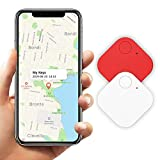 Schlüsselfinder Bluetooth, Key Finder GPS Schlüsselfinder mit APP Anti-Lost Tracker Pfeifen für Telefon Haustiere Schlüsselbund Brieftasche Gepäck