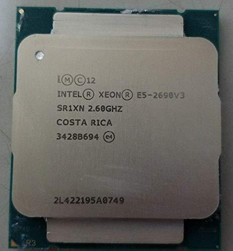 Price comparison product image MAO YEYE Intel E5-2690 V3 Processor SR1XN 2.6Ghz 12 Core 30MB Socket LGA 2011-3 Xeon CPU E5 2690 V3 (Refurbished)