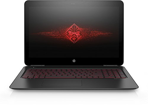 OMEN by HP (15-ax006ng) 39,6 cm (15,6 Zoll / FHD IPS UWVA) Gaming Laptop (Intel Core i7-6700HQ), 16 GB RAM, 2 TB HDD, 128 GB SSD, NVIDIA GeForce GTX 960M, Windows 10) schwarz