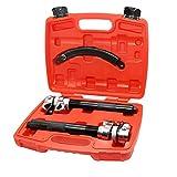 KATSU Juego de abrazaderas de compresor de muelles helicoidales para automóviles Abrazadera de suspensión del vehículo (juego)